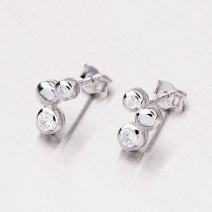 Stříbrné náušnice TE1465A