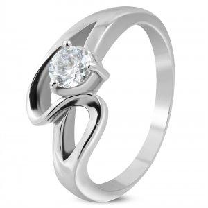 Dámský ocelový prsten GZRC226