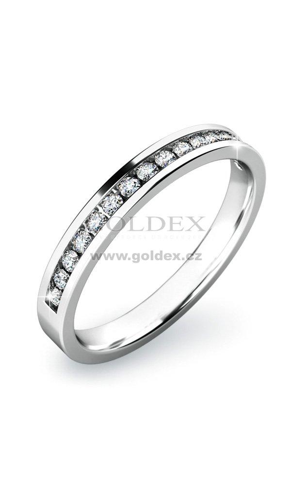 Zasnubni Prsten S Diamanty Zp 10812d Goldex Cz