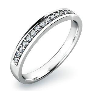 Zásnubní prsten s diamanty ZP-10813D