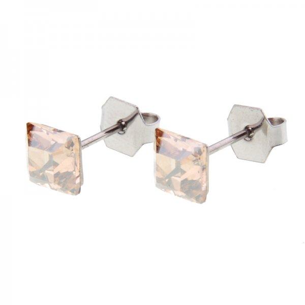 Ocelové náušnice  s krystaly Swarovski 290034H