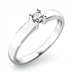 Zasnubní prsten se zirkonem ZP-10796