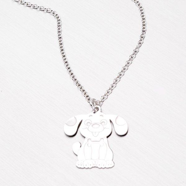 Stříbrný náhrdelník se psem N1602283-1507-SLX