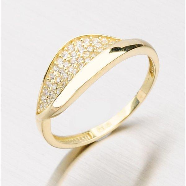 Prsten ze žlutého zlata 111-0617
