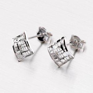 Stříbrné náušnice - pecky E1502620-2142-SLX