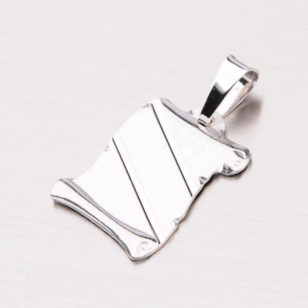 Stříbrná destička YNG3092