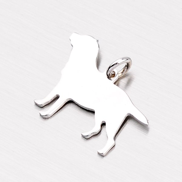 Přívěsek - pes ze stříbra P1601222-0532-SLX
