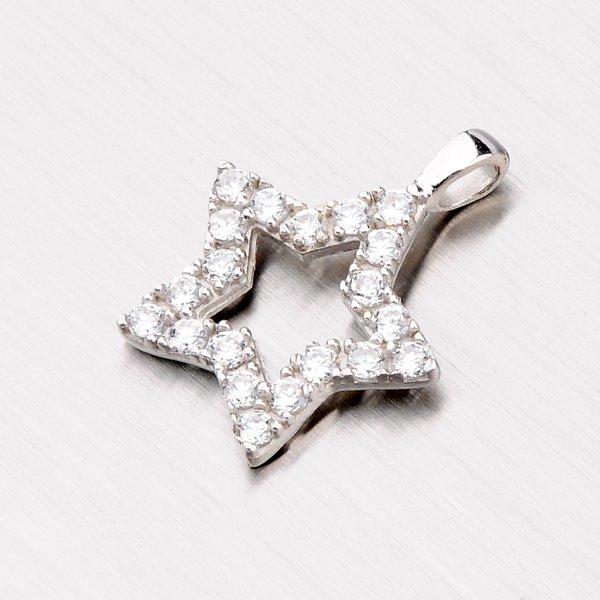 Stříbrný přívěsek - hvězdička YNG3078