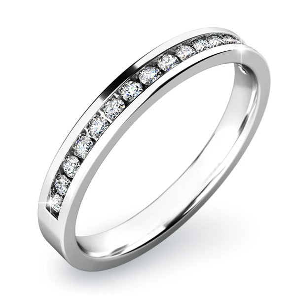 Zásnubní prsten se zirkony ZP-10812