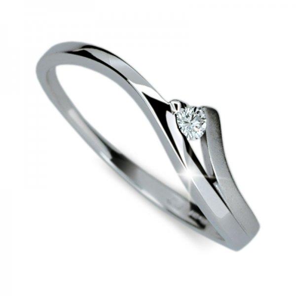 Dámský prsten s diamantem DF1718