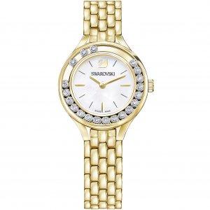 Crystals Mini Watch, Gold Tone 5242895