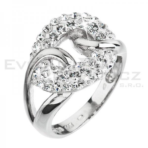 Prsten se Swarovski ELEMENTS 35035.1 Krystal