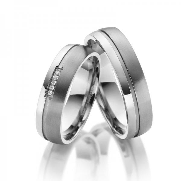 Titanové snubní prsteny SP-TI-022