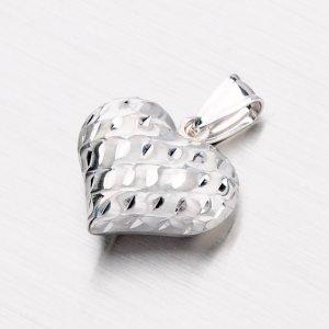 Stříbrné srdce X3DCSTP2556-IV/42