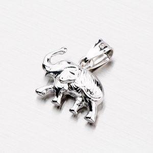 Stříbrný slon XXSTP1414-IV-RD