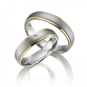 Titanové snubní prsteny SP-TI-011