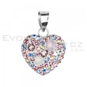 Přívěsek se Swarovski ELEMENTS 34094.3 Magic Rose