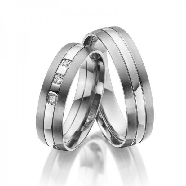 Titanové snubní prsteny SP-TI-020