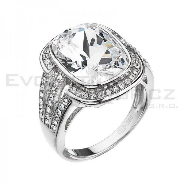 Prsten se Swarovski ELEMENTS 35049.1 Krystal