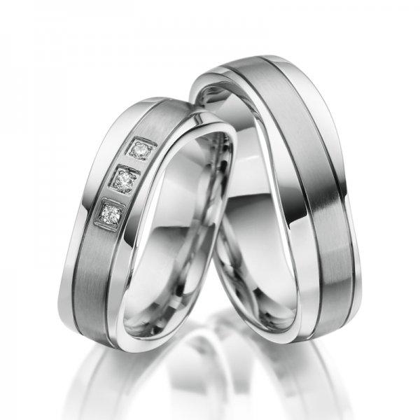 SP-ES-18 Ocelové snubní prsteny SP-ES-18