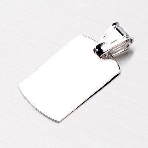 Stříbrná destička P1300296-0009-SLX