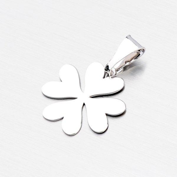 Stříbrný přívěsek - čtyřlístek P1400186-1507-SLX