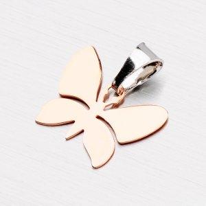 Přívěsek ve tvaru motýlka ze stříbra P1400181-1507