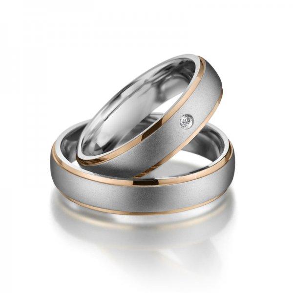 Titanové snubní prsteny SP-TI-012