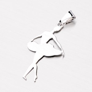 Stříbrná baletka P1501390-1507-SLX