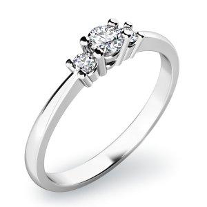 Zásnubní prsten s diamanty ZP-10843D