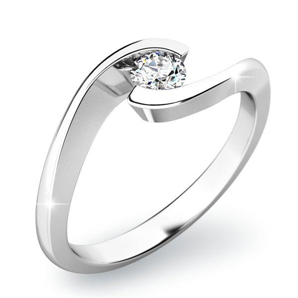 Zásnubní prsten s diamantem ZP-10842D