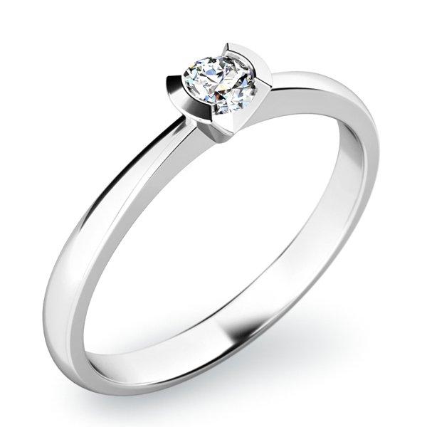 Zásnubní prsten s diamantem ZP-10840D