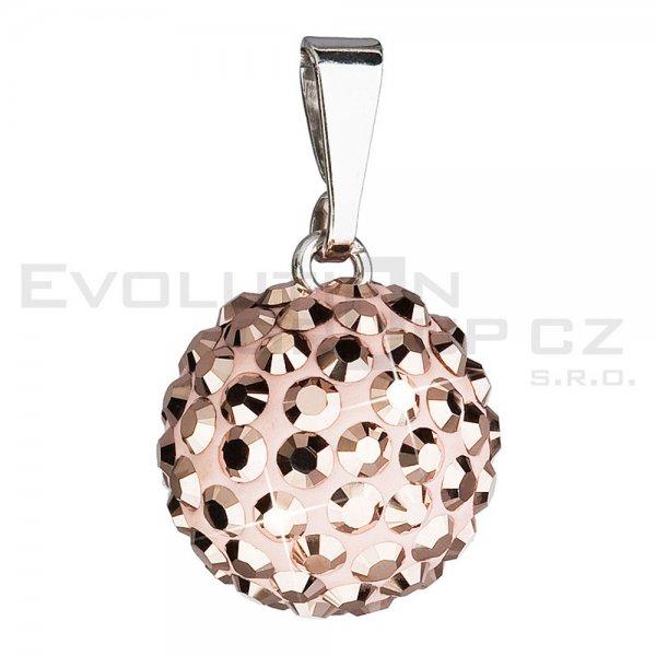 Přívěsek se Swarovski ELEMENTS 34080.5 Rose Gold