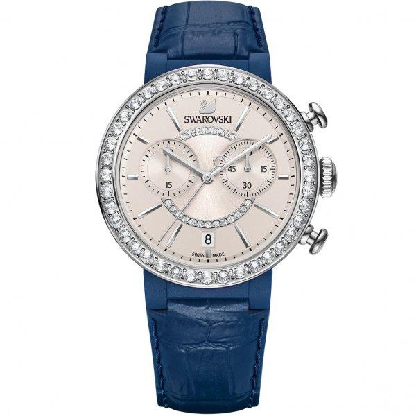 Swarovski -  Citra Sphere Chrono Watch, Blue Gray 5210208