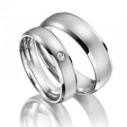 SP-ES-13 Ocelové snubní prsteny SP-ES-13