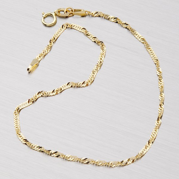 Lambáda ze žlutého zlata N304-0003