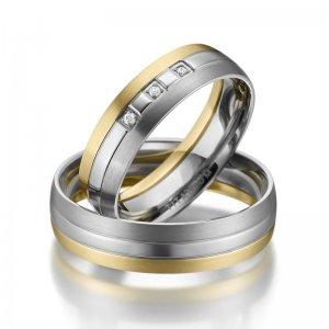 Titanové snubní prsteny SP-TI-010