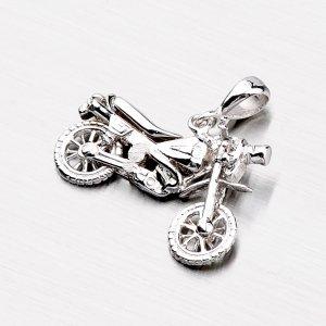 Stříbrná motorka XXP1004-RD