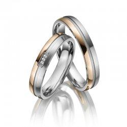 Titanové snubní prsteny SP-TI-014