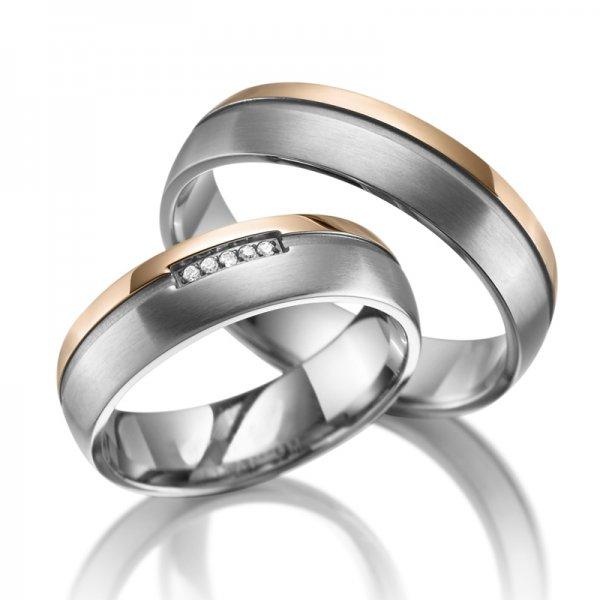 SP-TI-16 Titanové snubní prsteny SP-TI-16