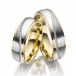 SP-ES-22 Ocelové snubní prsteny SP-ES-22