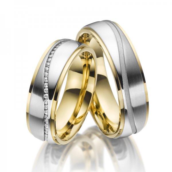 Ocelové snubní prsteny SP-ES-022