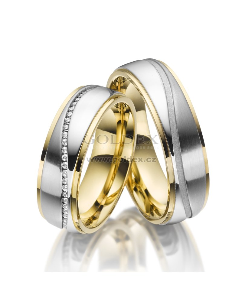 Sp Es 22 Ocelove Snubni Prsteny Sp Es 22 Goldex Cz