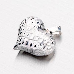 Stříbrné srdce DCSTP5242/28-RD