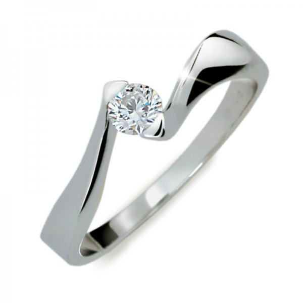 Zásnubní prsten s diamantem ZP1856