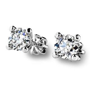 Diamantové náušnice pecky 10828-B