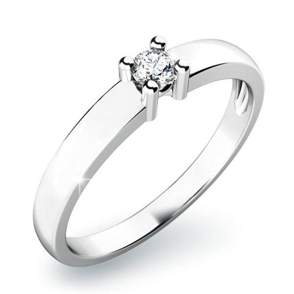 Dámský prsten s diamantem 10796D