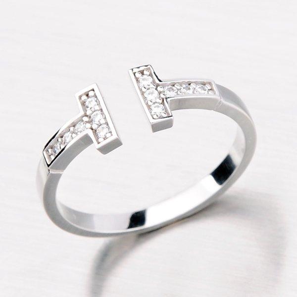 Zlatý prsten se zirkony 11-082