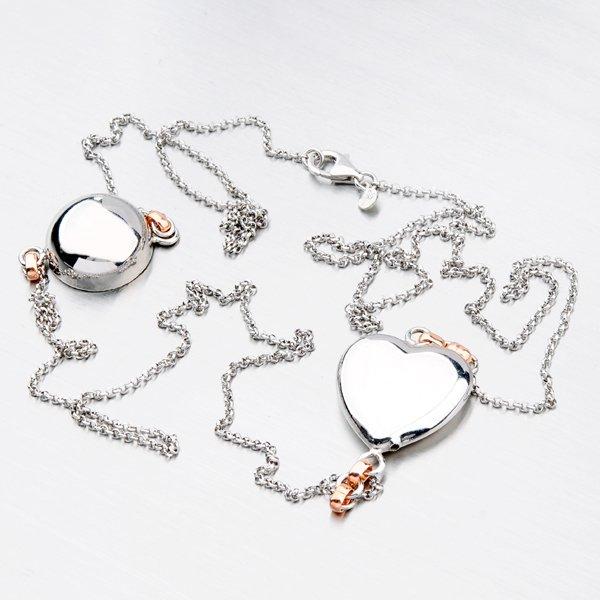 Stříbrný náhrdelník N1602042-1397-SLX