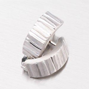 Náušnice ze stříbra CSK-254-OKS